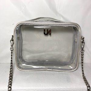 UNBRANDED Bags - Stylish Clear Purse Clear Crossbody Bag Clutch